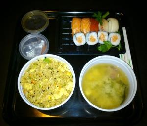 Sushi Spa Menú del Día 1