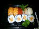 Menú del Día 1: maki y sushi variado