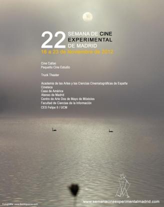 Cartel 22 Semana de Cine Experimental de Madrid