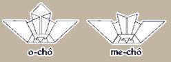 Origami: chô (mariposas)