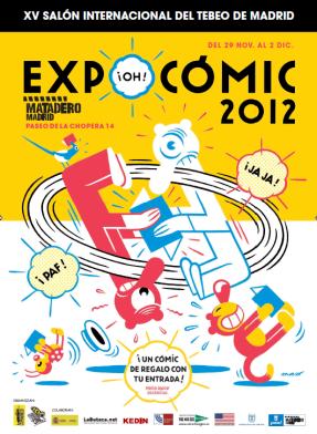 Cartel del Expocómic 2012