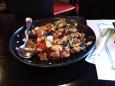 Casa Osaka II: pollo y verduras salteadas con salsa de soja