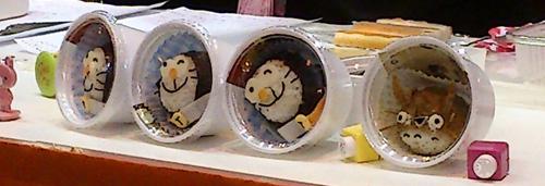 Taller de bento-kyaraben: Doraemon y Totoro