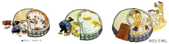 Ilustración de un mushiburo