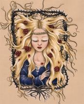 Belle au bois dormant de Lillette Gobin