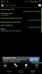 App Expo Cosplay - Agenda