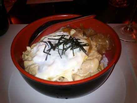 Restaurante Morikaen: oyakodon