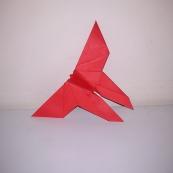 Fotografía: mariposa de origami (1)