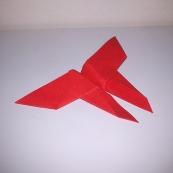Fotografía: mariposa de origami (2)