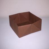 Fotografía: caja de origami