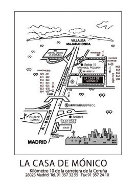 Plano La Casa de Mónico (Mochitsuki Taikai 2014)