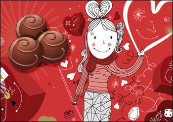 Imagen destacada: cartel chocolate Godiva