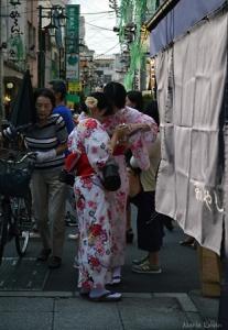 Amigas en yukata (2)